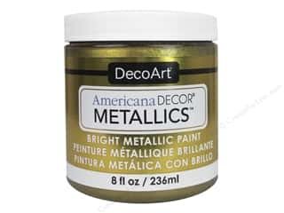 craft & hobbies: DecoArt Americana Decor Metallics 8 oz. Vintage Brass