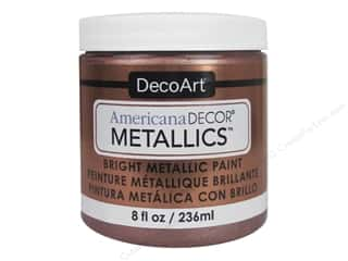 craft & hobbies: DecoArt Americana Decor Metallics 8 oz. Rose Gold