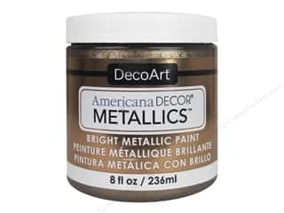 craft & hobbies: DecoArt Americana Decor Metallics 8 oz. Antique Bronze