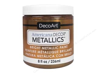 craft & hobbies: DecoArt Americana Decor Metallics 8 oz. Bronze