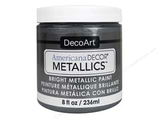 craft & hobbies: DecoArt Americana Decor Metallics 8 oz. Tin