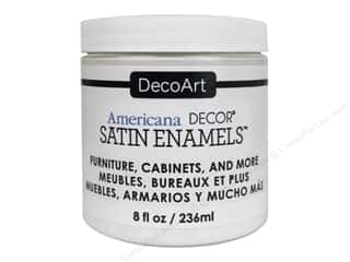 DecoArt Americana Decor Satin Enamel Paint 8 oz. Warm White
