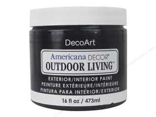 DecoArt Americana Decor Outdoor Living Exterior/Interior Paint 16 oz. Iron Gate