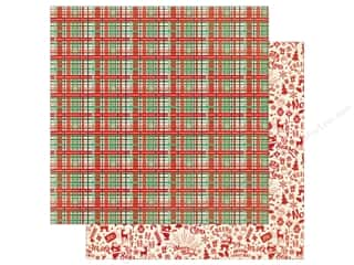 Authentique 12 x 12 in. Paper Retro Christmas Two (25 sheets)