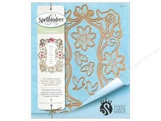rectangle die: Spellbinders Die Shapeabilities Christmas Dove Frame