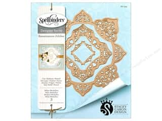 die cuts: Spellbinders Die Shapeabilities Milan Medallion