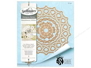 dies: Spellbinders Die Shapeabilities Naples Medallion