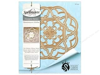 die cutting machines: Spellbinders Die Nestabilities Label 46 Deco Accent