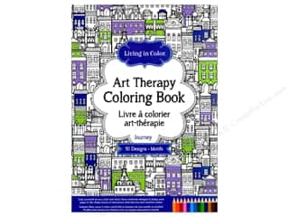 books & patterns: Multicraft Living In Color Art Therapy Journey Coloring Book