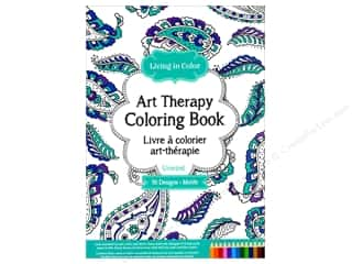 books & patterns: Multicraft Living In Color Art Therapy Unwind Coloring Book