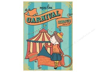 MiniLou Carnival Circus Mini Coloring Book