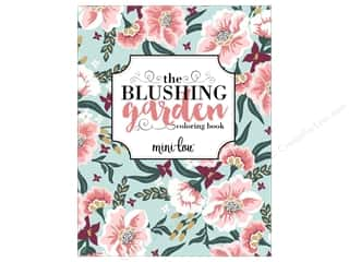 MiniLou Books Blushing Garden Coloring Book