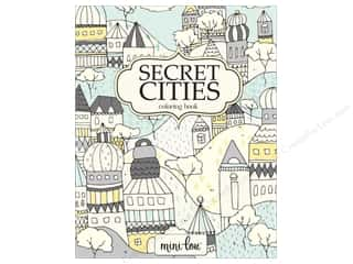 MiniLou Books Secret Cities Coloring Book