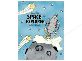 MiniLou Books Space Explorer Coloring Book