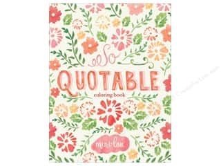 books & patterns: MiniLou Books So Quotable Coloring Book