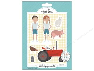 scrapbooking & paper crafts: MiniLou Pocket Pal Family Farm