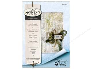 embossing folders: Spellbinders Embossing Folder Blistered