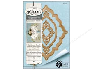 die cutting machines: Spellbinders Die Nestabilities Label 56 Decorative Element