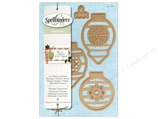 die cuts: Spellbinders Die Shapeabilities Vintage Ornaments