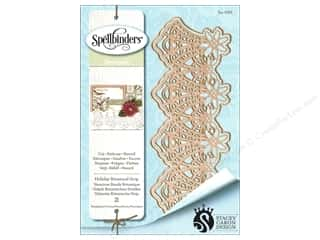 die cutting machines: Spellbinders Die Shapeabilities Holiday Botanical Strip