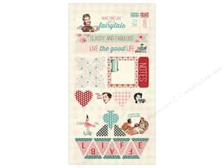 die cuts: Authentique Die Cuts Fabulous Components (12 sets)