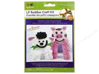 Kids Crafts: Multicraft Krafty Kids DIY Craft Kit Lil' Buddies Piggy/Lamb (12 kits)