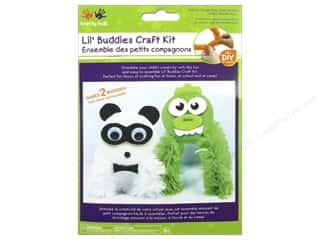 Kids Crafts: Multicraft Krafty Kids DIY Craft Kit Lil' Buddies Monster/Panda (12 kits)