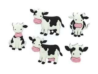scrapbooking & paper crafts: Jesse James Dress It Up Embellishments Mooove It!