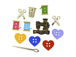 craft & hobbies: Jesse James Dress It Up Embellishments For The Love of Quilting