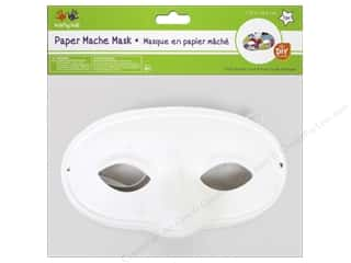 Paper Mache: Multicraft Krafty Kids DIY Paper Mache Mask w/Band Classic