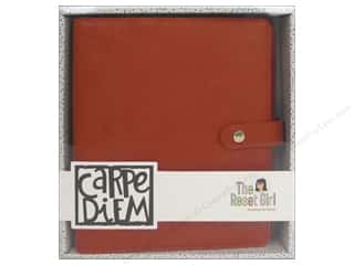 Simple Stories Collection Carpe Diem Reset Girl A5 Planner Persimmon