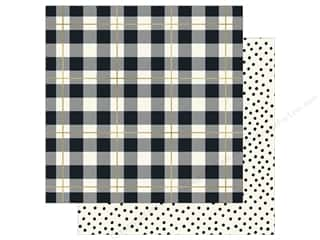 My Mind's Eye 12 x 12 in. Paper Yes Please Plaid Please (25 sheets)