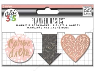 Me & My Big Ideas Create 365 Happy Planner Magnetic Page Clips 3 pc. Rose Gold