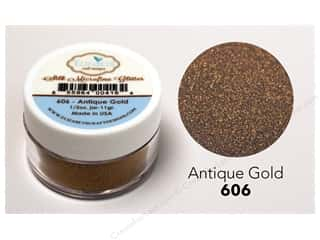 craft & hobbies: Elizabeth Craft Silk Microfine Glitter 1/2 oz. Antique Gold