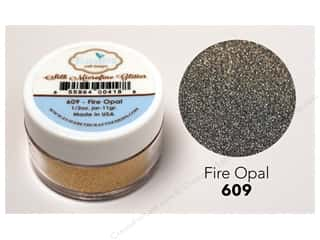 Elizabeth Craft Silk Microfine Glitter 1/2 oz. Fire Opal