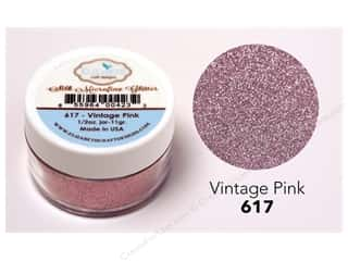 scrapbooking & paper crafts: Elizabeth Craft Silk Microfine Glitter 1/2 oz. Vintage Pink