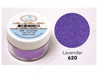 Elizabeth Craft Silk Microfine Glitter 1/2 oz. Lavender