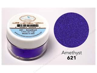 Elizabeth Craft Silk Microfine Glitter 1/2 oz. Amethyst