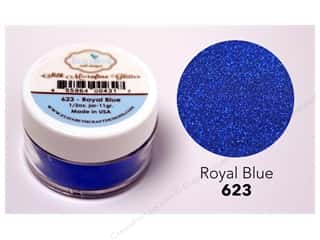 Elizabeth Craft Silk Microfine Glitter 1/2 oz. Royal Blue