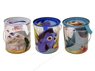 craft & hobbies: Tin Box Co Clear Bucket Disney Finding Dory 1 pc.