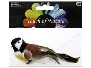 craft & hobbies: Midwest Design Artificial Birds 5 in. Black Cap Chickadee Assorted 1 pc.