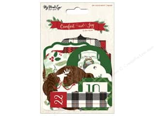 My Mind's Eye Comfort & Joy Collection Advent Tags