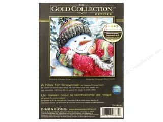 yarn & needlework: Dimensions Cross Stitch Kit Kiss For Snowman