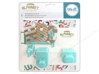 alphabet: We R Memory Keepers Mini Alphabet Punch Board