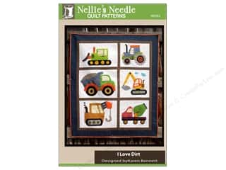 Books & Patterns: Nellie's Needle I Love Dirt Quilt Pattern