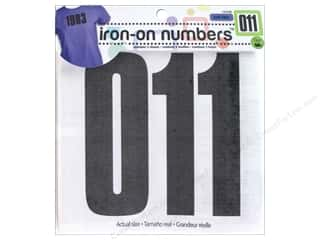 Dritz Soft Flex Iron-On Numbers - 5 in. Black