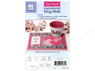 June Tailor Inspirational Mug Mat Panel Spiritual & Pattern
