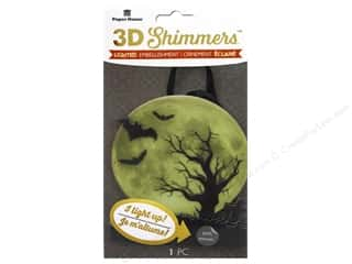 Paper House Sticker 3D LED Shimmer Moonlight