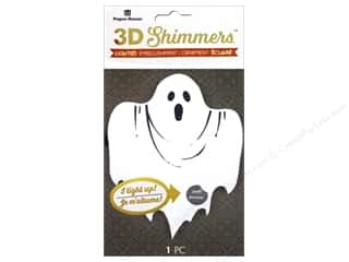 Paper House Sticker 3D LED Shimmer Ghost