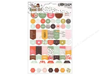Simple Stories: Simple Stories Collection Carpe Diem Reset Girl Sticker Planner Basic